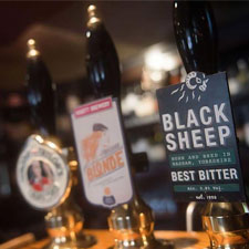 Real Ale at High Force Hotel