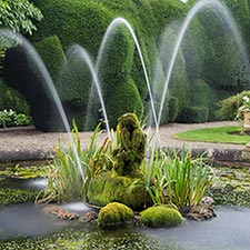 Water feature, Raby Castle