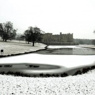 Raby Castle in Winter