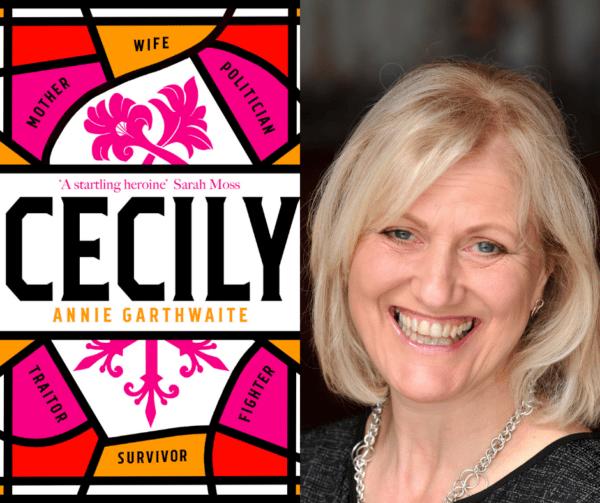 Cecily book with author Annie Garthwaite
